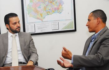 Sargento Pereira visita representantes do Governo Estadual