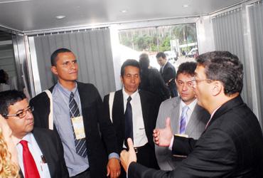 Sargento Pereira participa do Encontro Nacional de Prefeitos em Brasília