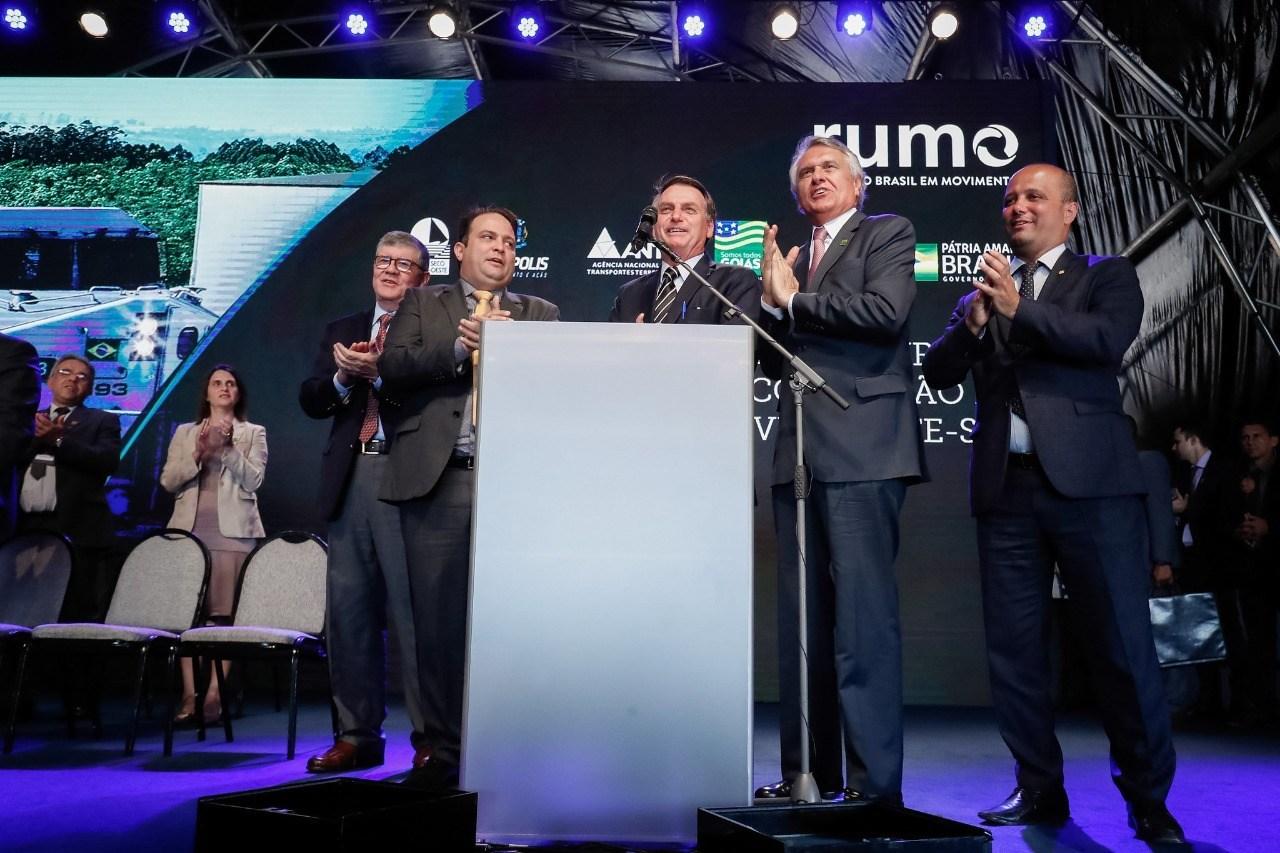 Major Vitor Hugo ressalta papel da Ferrovia Norte-Sul para a retomada do crescimento de Goiás e do Brasil